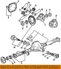 FORD OEM Rear Differential-Pinion Seal BR3Z4676A