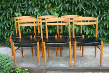 6 HYSSNA Teak Dining-Chairs Swedish Design Mid Century Modern