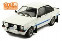 IXO 18CMC029 FORD ESCORT Mk.II RS1800 diecast model road car white 1977 1:18th