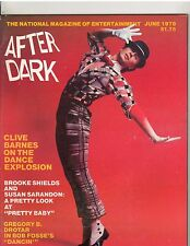 AFTER DARK entertainment magazine/CLIVE BARNES/Brooke Shields 6-78