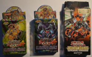 Yu-Gi-Oh cards 3 SETS BUNDLE Circuit Break & GX4 Gladiators Assault No. 707 710
