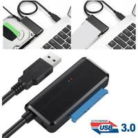 USB 3.0 to SATA Adapter Cable 2.5/3.5 inch HDD SSD Hard Drive Disk Converter