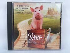Babe Pig In The City Soundtrack CD 1998 That'll Do Peter Gabriel GREAT COND RARE