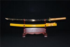 1095 High Carbon Steel Japan Samurai Sword Katana Knife Handmade Sharp Blade New