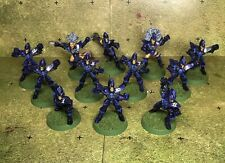 Blood Bowl dark elf team painted  (table Top Level) metal  naggaroth nightmares