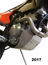 Aluminum Skid Plate for a KTM 450 EXC and KTM 500 EXC 2017-2018
