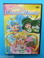 caricaturas cartoons dvds principesse sirene mermaid melody dvd n. 10 usato used