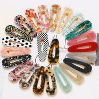 Women Vintage Leopard Hair Clip Bobby Pin Hairband Hair Accessories Barrett Y5Z1