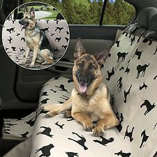 Dog Seat Cover Pet Waterproof, Back Rear Soft Protector Car SUV Truck Travel