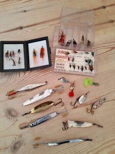 VINTAGE ABU FISHING LURES & JOHN NORRIS FLIES COLLECTION - Prisma  Toby - Koster