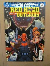 Red Hood and the Outlaws #1 DC Rebirth 2016 Series Batman 9.4 Near Mint
