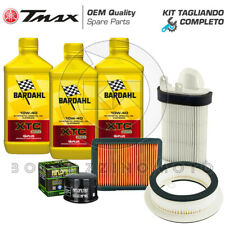 KIT TAGLIANDO YAMAHA T-MAX 500 2010-2011 FILTRI ARIA/OLIO BARDAHL XTC C60 10W40