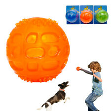 Interactive Dog Chew Toys for Aggressive Chewers Sound Squeaky Squeaker Ball Toy