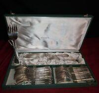Christofle: Service de table  27 pièces en métal argenté !