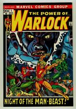 Warlock #1 NM+ 9.6 OW/W pages 1972 Marvel Bronze age