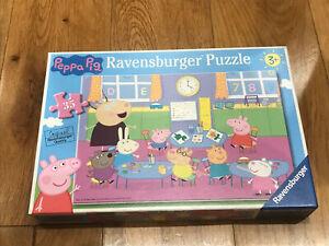 Ravensburger Peppa Pig Classroom Fun 35 piece jigsaw puzzle Age 3+ 08627