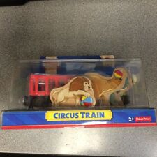 Circus Train for the Thomas & Friends Wooden Railway System New in Box!