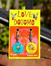 Love Docomo Do Co Mo Cell Phone Clip Charms Accessory Maya Maxx Bunny Rabbit