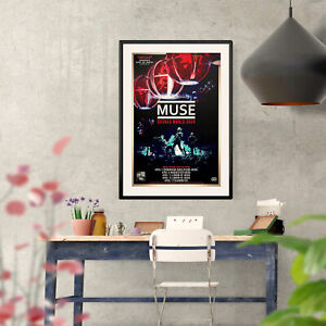 Muse Drones World Tour 2016 UK Poster 3 Print Options or Two Framed Options NEW