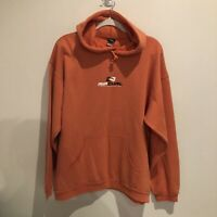 VINTAGE 90s Ripcurl Hoodie Spell Out Jumper Australian Surfwear Made In Aus L