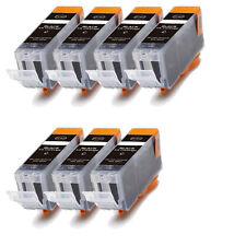 7 NEW BLACK Ink Cartridge for BCI-3eBK Canon i550 i850 i560 i860 iP3000 iP4000