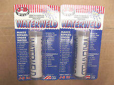 2 Tubes Of J B Water Weld # 8277. W5.7.