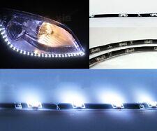 2xWhite 120CM 60LED Side Glow Side-emitting Side Shine Flexible LED Strip Ligth
