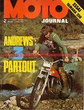MOTO JOURNAL   59 Essai YAMAHA 250 YDS 7 Thierry Tchernine Trial en Espagne 1972