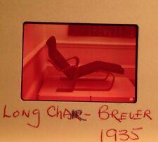 "Marcel Breuer ""Long Chair 1935"" 35mm Modern Furniture Design Slide"
