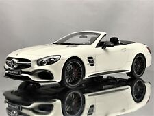 GT Spirit Mercedes Benz SL63 AMG (R231) Cabriolet White Dealership Edition 1:18