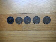 5 ea Large Canadian Cents  A group of Very cool old coins