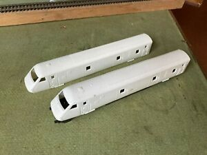 Inter City 225, Horby class 91, 2 x dvt bodies - no decoration, OO gauge