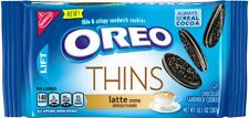 NEW 2019 Nabisco Oreo Thins Latte Creme Flavored Cookies FREE WORLDWIDE SHIPPING