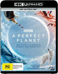 A Perfect Planet BBC David Attenborough 4K Ultra HD BRAND NEW Region B