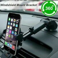 360°Car Holder Windshield Mount Bracket For Mobile Phone Cell GPS iPhone Sa M3V5