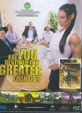 "Kingdom Under Fire Heroes ""Xbox"" 2005 Magazine Advert #4831"