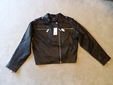 NWT J BRAND MAISIE BLACK LEATHER MOTO JACKET - SIZE MED - RETAIL PRICE $1,298.00