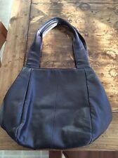 womens purses and handbags/Wilsons Dark Brown Leather Tote Bag