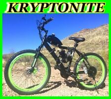 "Kryptonite 50 80 Cc Gas Motor Motorized Engine & 26"" Bike Bicycle Scooter Kit"
