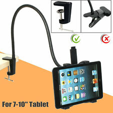 "Gooseneck 360 Lazy Bed Desktop Table Mount Stand Holder For ipad 7-10"" Tablet TE"