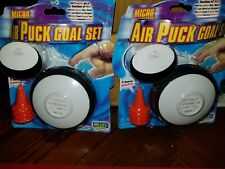 2 Micro air puck goal set IN SEALED PACKAGES 2 PKGS.