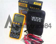 VICTOR 9806+ LCD 4 1/2 Digital Multimeter VC9806+ Backlight VC9806+