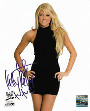 WWE KELLY KELLY HAND SIGNED AUTOGRAPHED 8X10 PHOTOFILE PHOTO WITH COA RARE G
