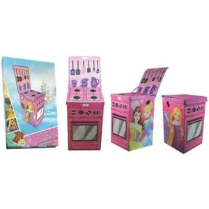 Disney Princess Foldable Storage Box Kitchen Cooker Shaped Girls 56 x 38 x 35cm