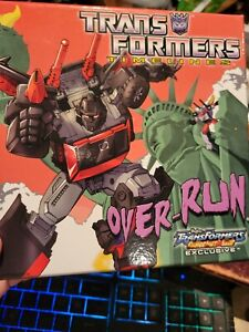 Transformers TFCC Timelines OVER-RUN RUNABOUT RUNAMUCK Collector Club BOTCON