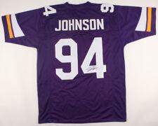 Jaleel Johnson Signed Minnesota Vikings Jersey (JSA COA) Iowa Hawkeyes D.T. eec045fd8