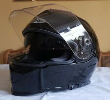 Motorradhelm Nexo schwarz Größe XS