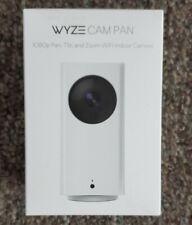 Wyze Cam Pan 1080p Pan/Tilt/Zoom Wi-Fi Indoor Smart Home Camera W/ Night Vision