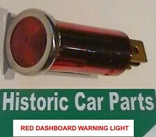 DASHBOARD RED Battery Ignition Accessory etc... WARNING LIGHT  1960s