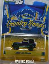 2016 Greenlight Rare Green Machine 1990 Jeep Wrangler County Roads Hard Top
